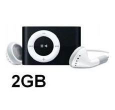 MP3 con memoria 2Gb conector USB (Negro) MarcaUsa-Net