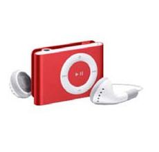 MP3 con memoria 2Gb conector USB (Red) Marca Usa-Net