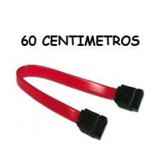 CABLE DE DATOS SERIAL ATA, Marca USA-NET 60 CM COLOR ROJO