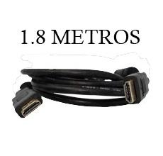 Cable HDMI HDMI Doble anillo y Golp Plate 1.8m
