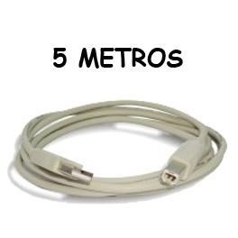 Cable USB para impresoras (05 METROS) Marca USA-NET
