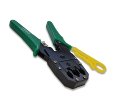 CRIMPING 3 EN 1 (RJ-45, RJ-11& RJ-8), 8P8C, 6P6C, 4P4C PELA CABLE INCLUIDO