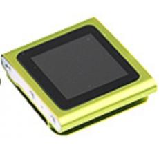 MP4 Nano Player ,FM ,Color Verde 4GB 1,8 con ranurapara Memoria